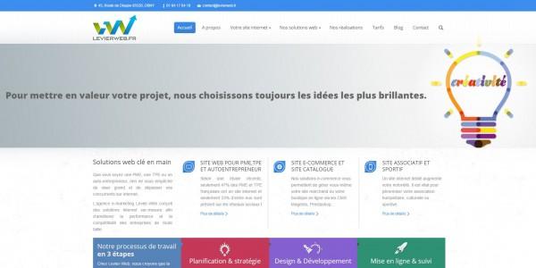 accueil levierweb.fr