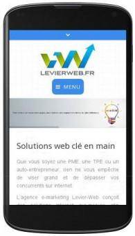 levierweb.fr responsive design