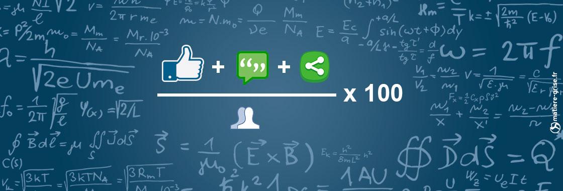calcul du taux d'engagement sur les réseaux sociaux